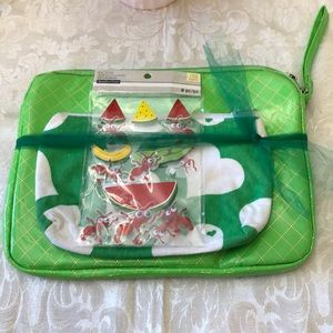 Cute Gift Set Pouches and Stickers